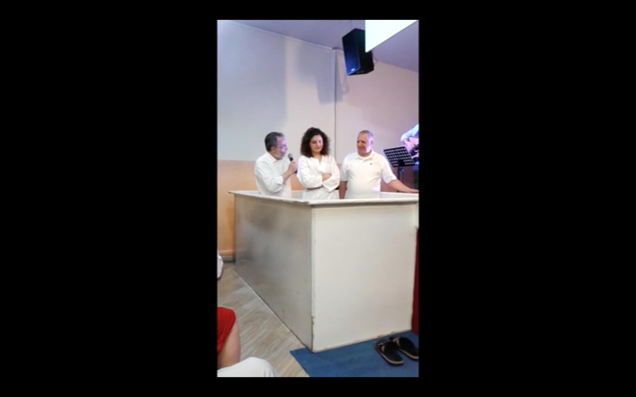 2014 Esdra Battesimo